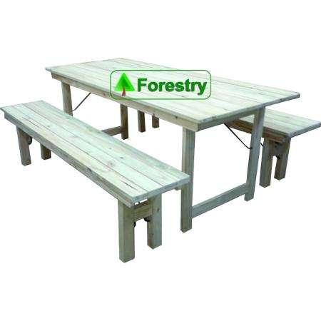 Mesa de madera plegable quincho y jardin fabrica de for Mesas plegables para jardin